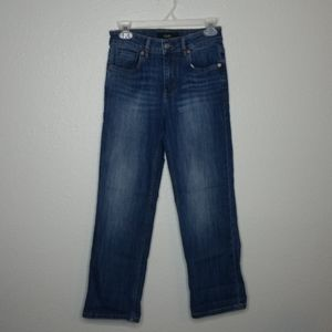 Dish High Rise Cropped Jeans 25